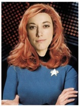 Lauren as Beverly Crusher